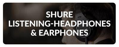Shop Shure Headphones & Earphones at Sam Ash