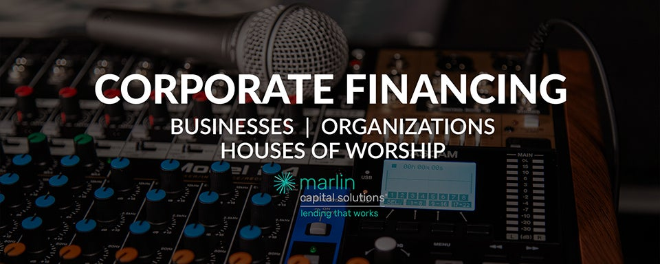 Corportate financing with Marlin Capital Solutions