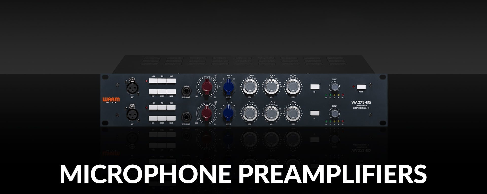 Microphone Preamps at SamAsh.com