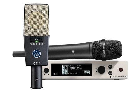 0% Interest For 40 Months On Microphones at SamAsh.com