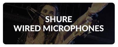 Shure Dynamic Microphones At Sam Ash