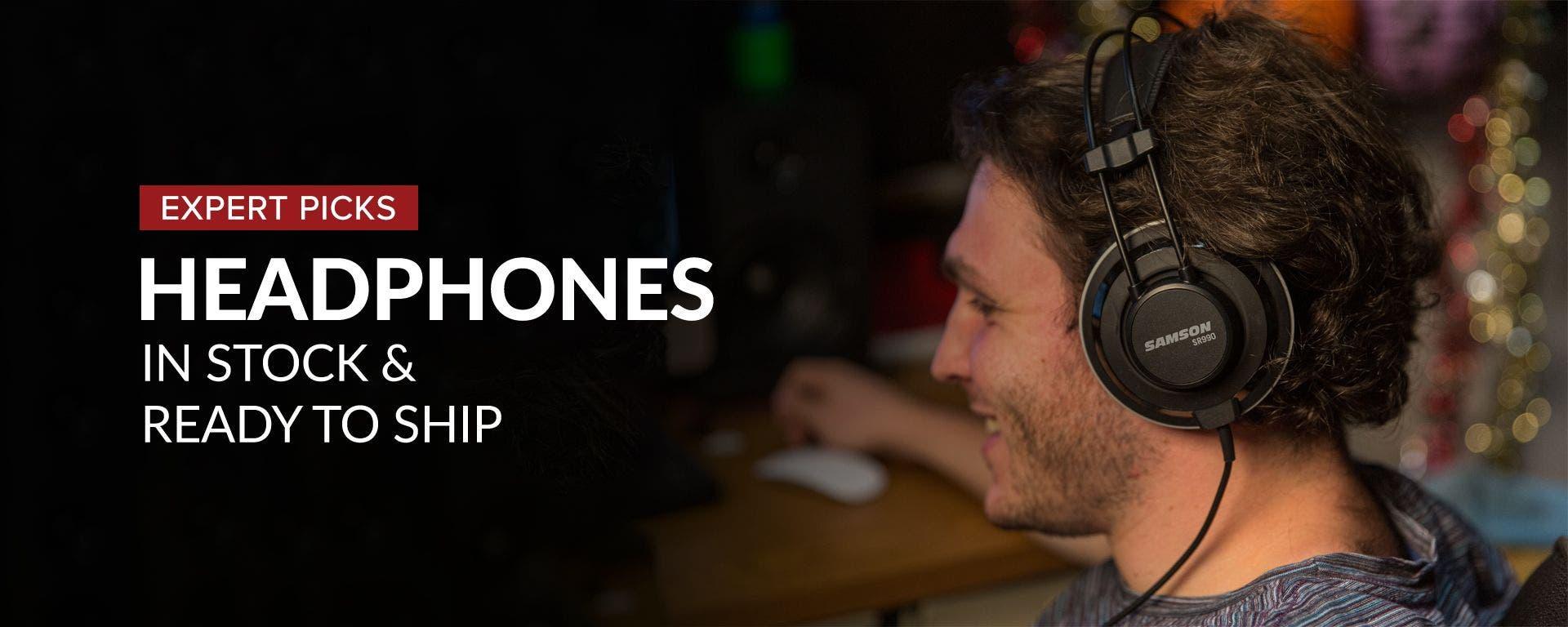 Headphones at Sam Ash