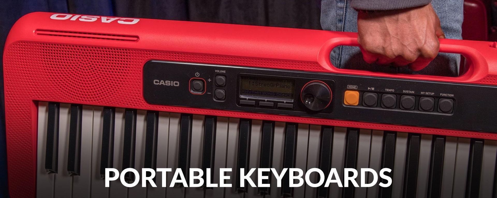 Portable Keyboards at SamAsh.com