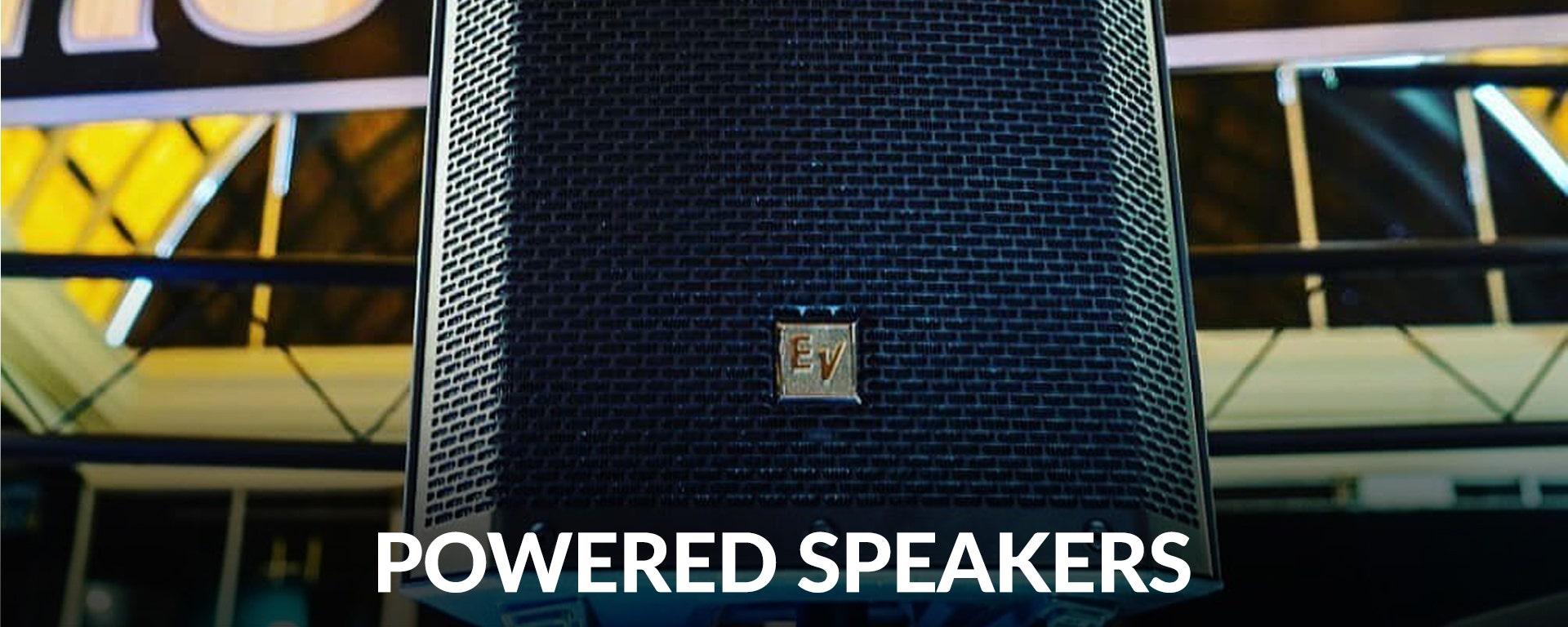 Powered Speakers at SamAsh.com