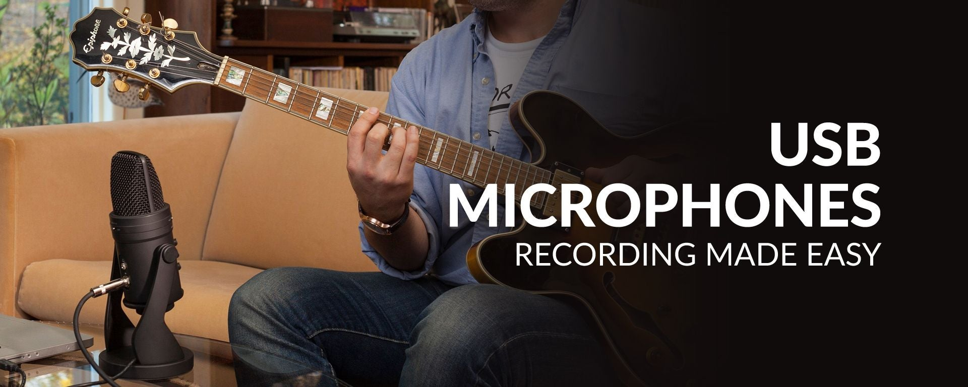 USB Microphone For Easy Recording At Sam Ash