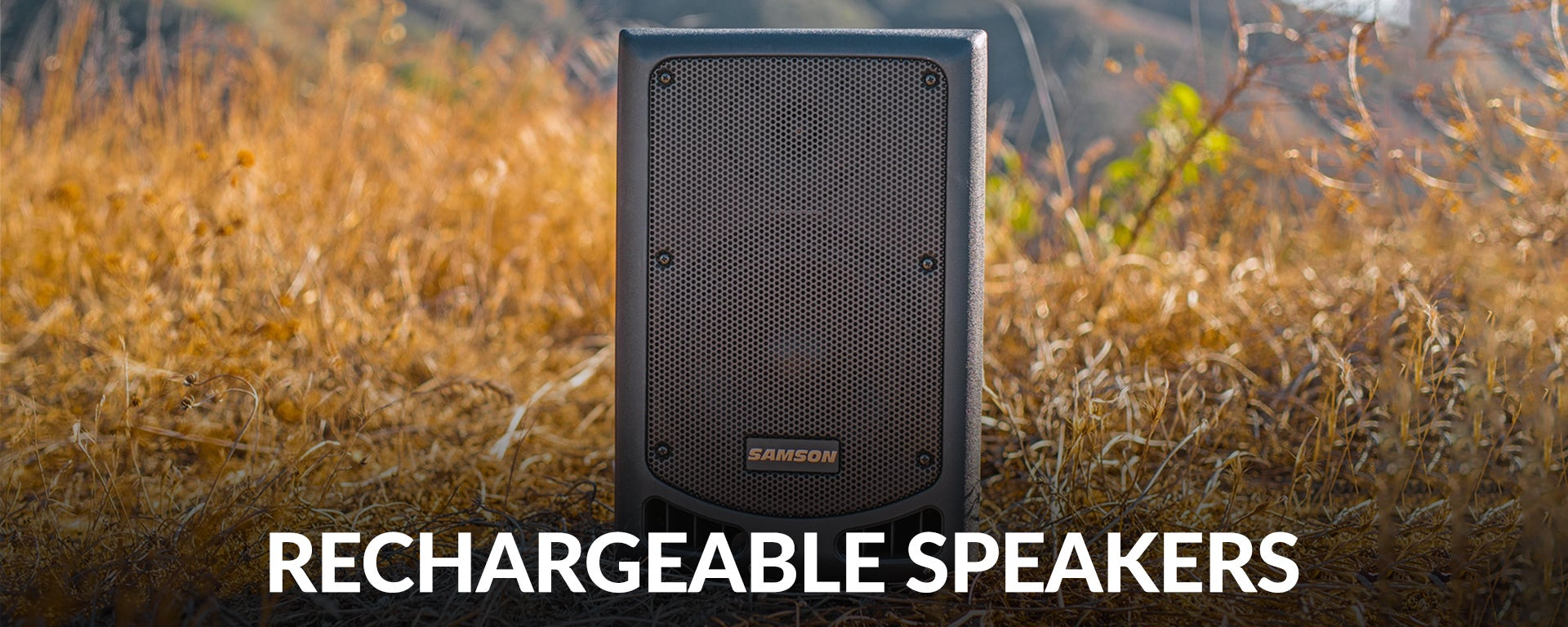 Rechargeable Speakers at SamAsh.com