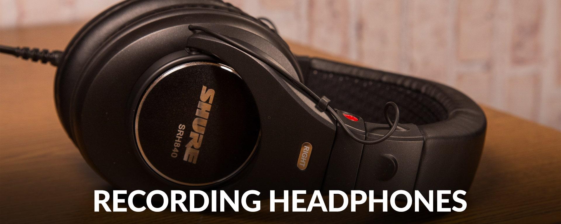 Shop Recording Headphones at SamAsh.com