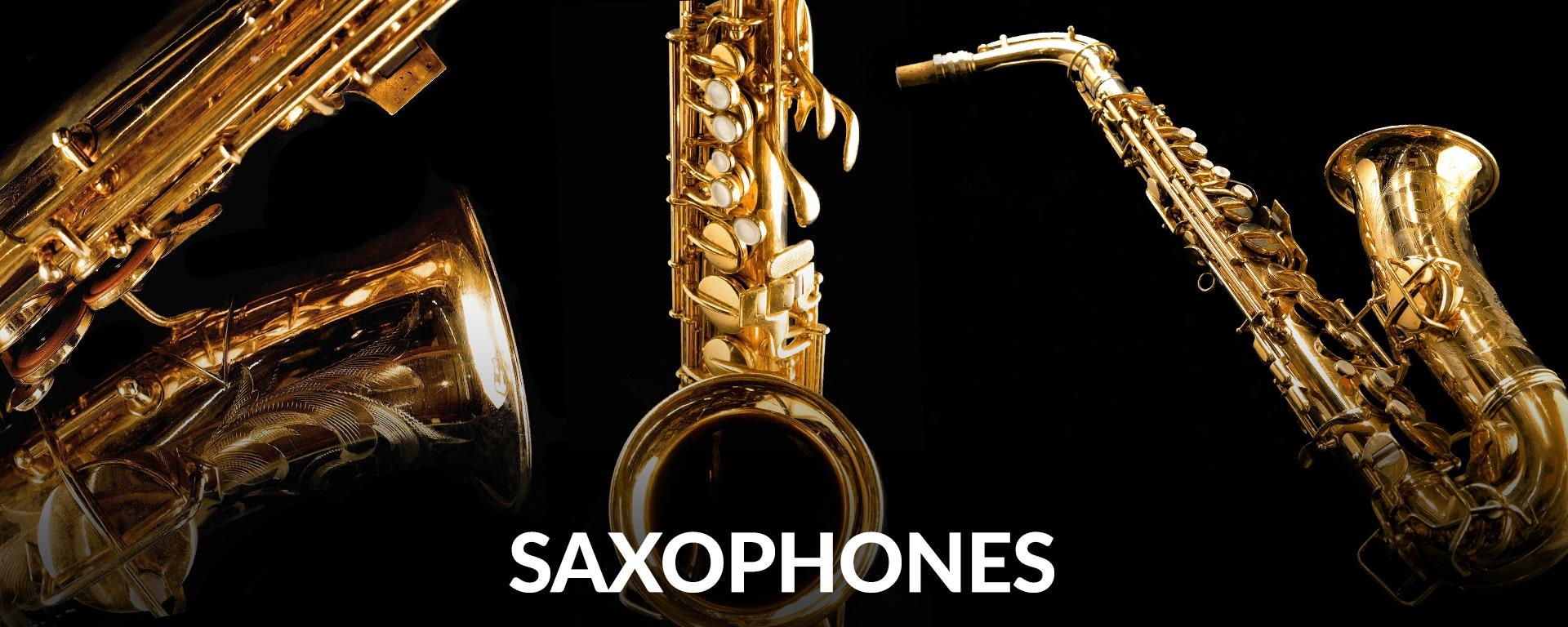 Shop Saxophones at SamAsh.com
