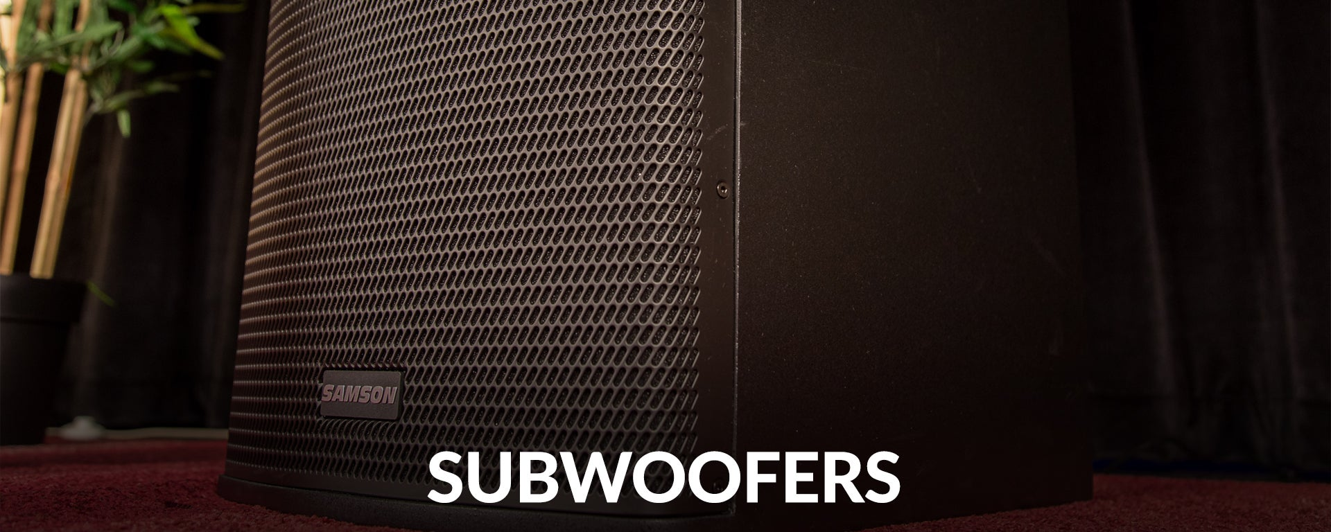 Subwoofers at SamAsh.com