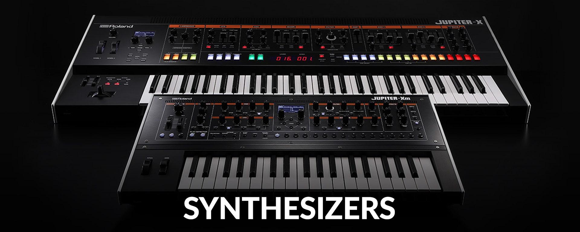 Synthesizers at SamAsh.com