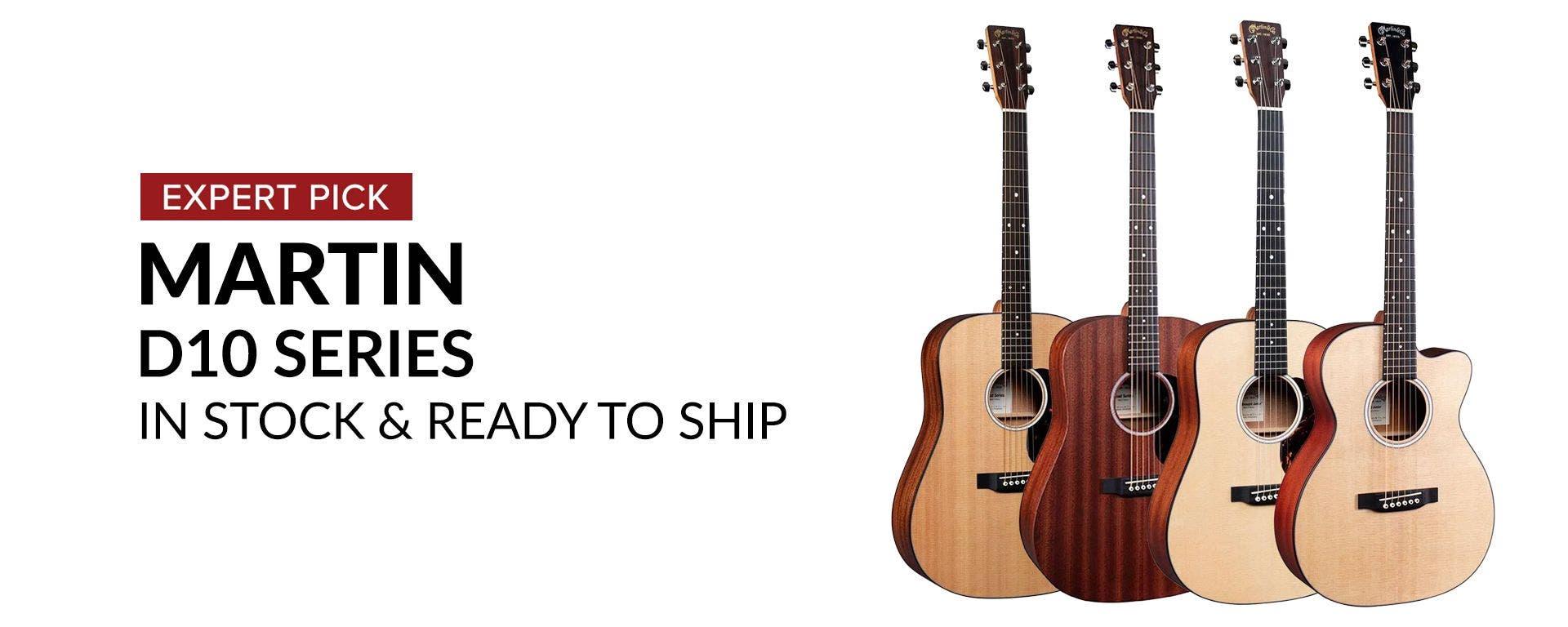 Shop Martin D-10 Series Guitars at Sam Ash