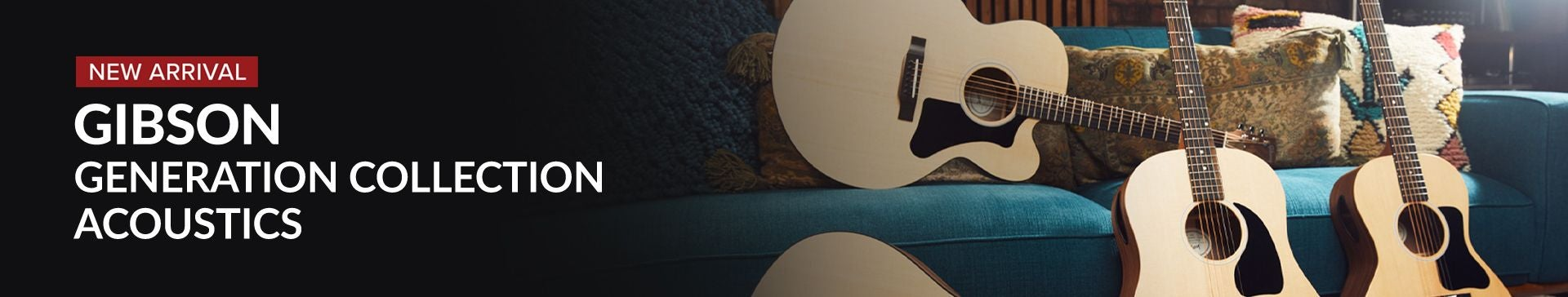 Shop Gibson Generation Collection Acoustics at Sam Ash