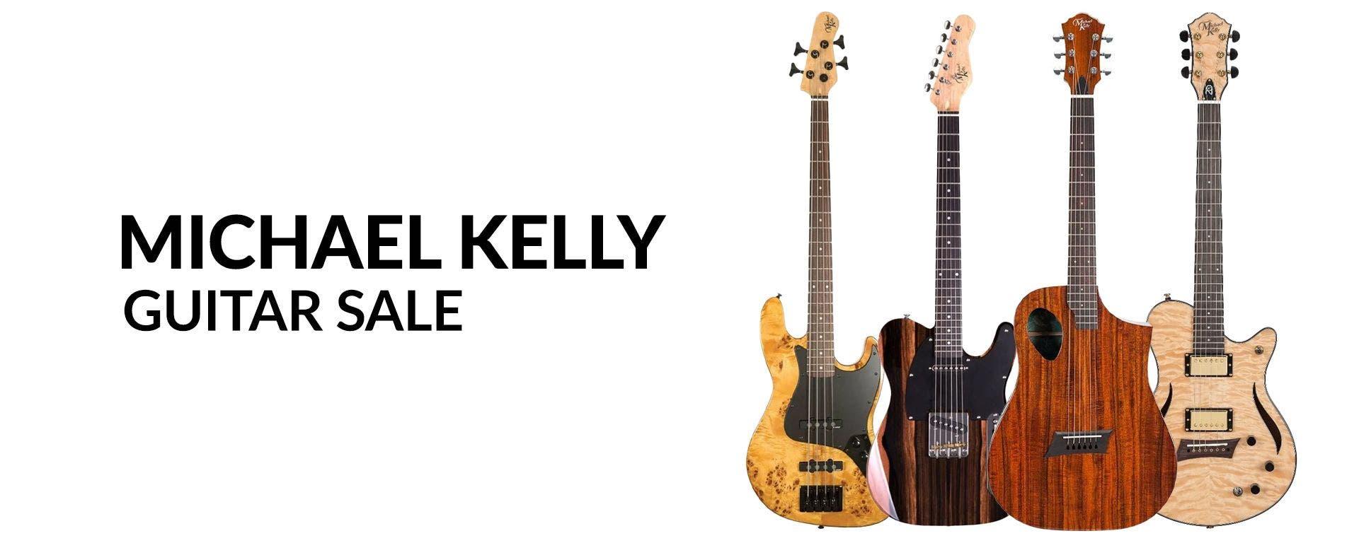 Michael Kelly Guitar Sale at Sam Ash