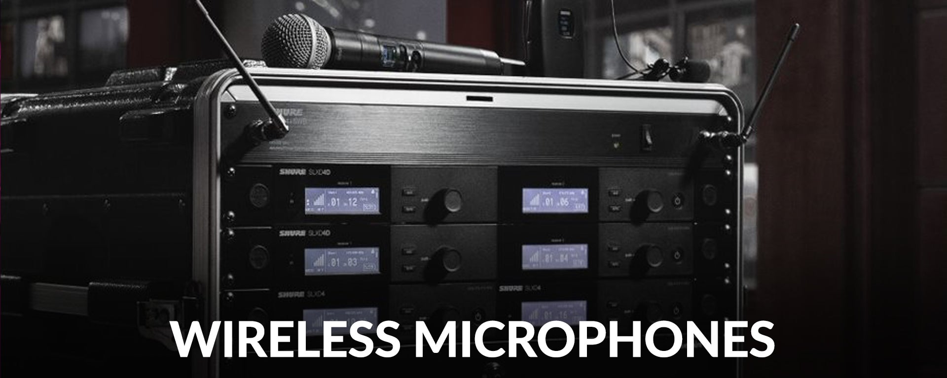Shop the best selection of Wireless Microphone Systems at SamAsh.com and get the lowest price and fast, free shipping.