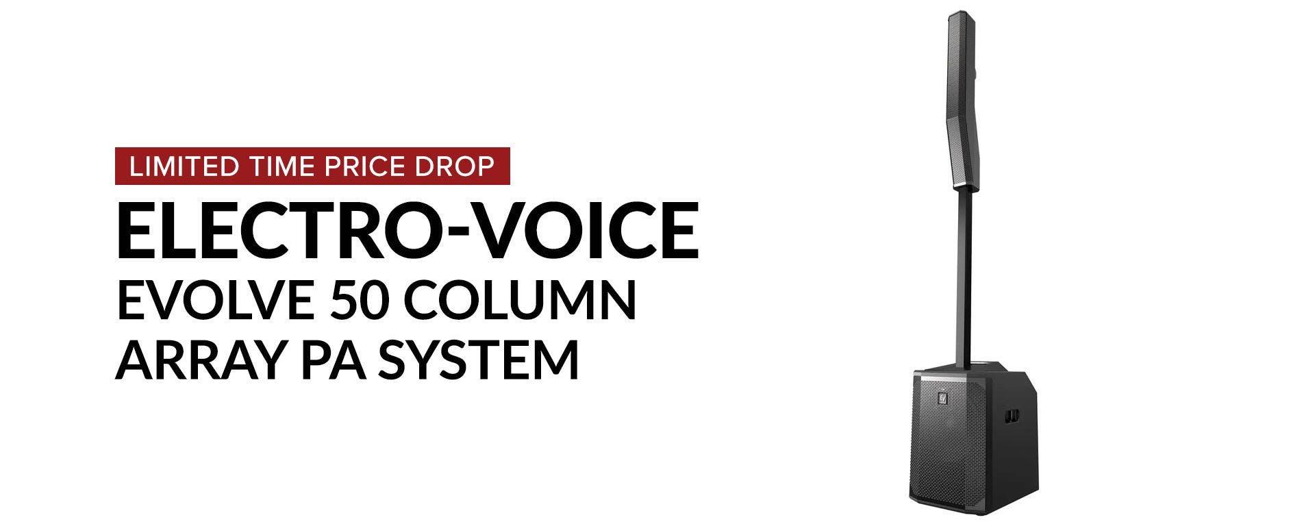 Electro Voice Evolve 50 Portable PA System At Sam Ash
