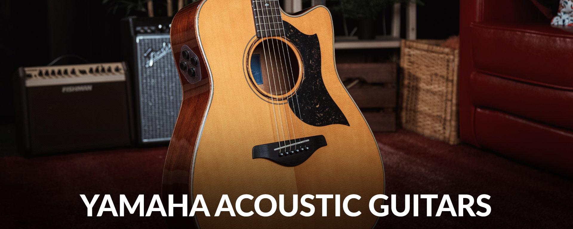 Shop Yamaha Acoustic Guitars at SamAsh.com
