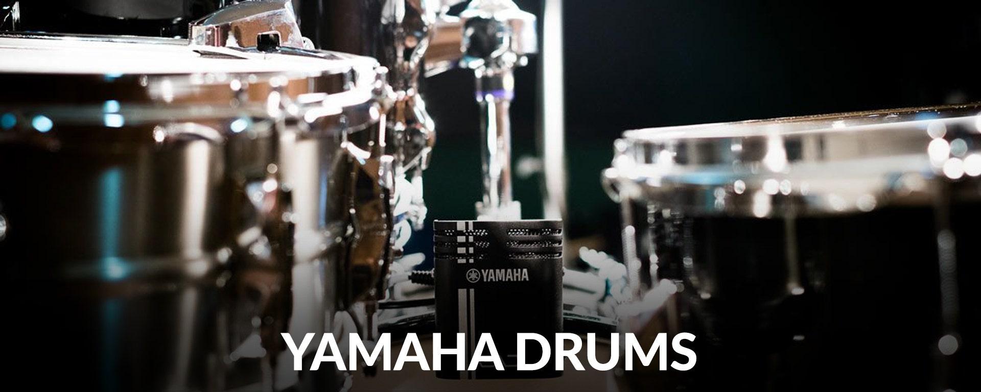 Shop Yamaha Drums and Percussion at SamAsh.com
