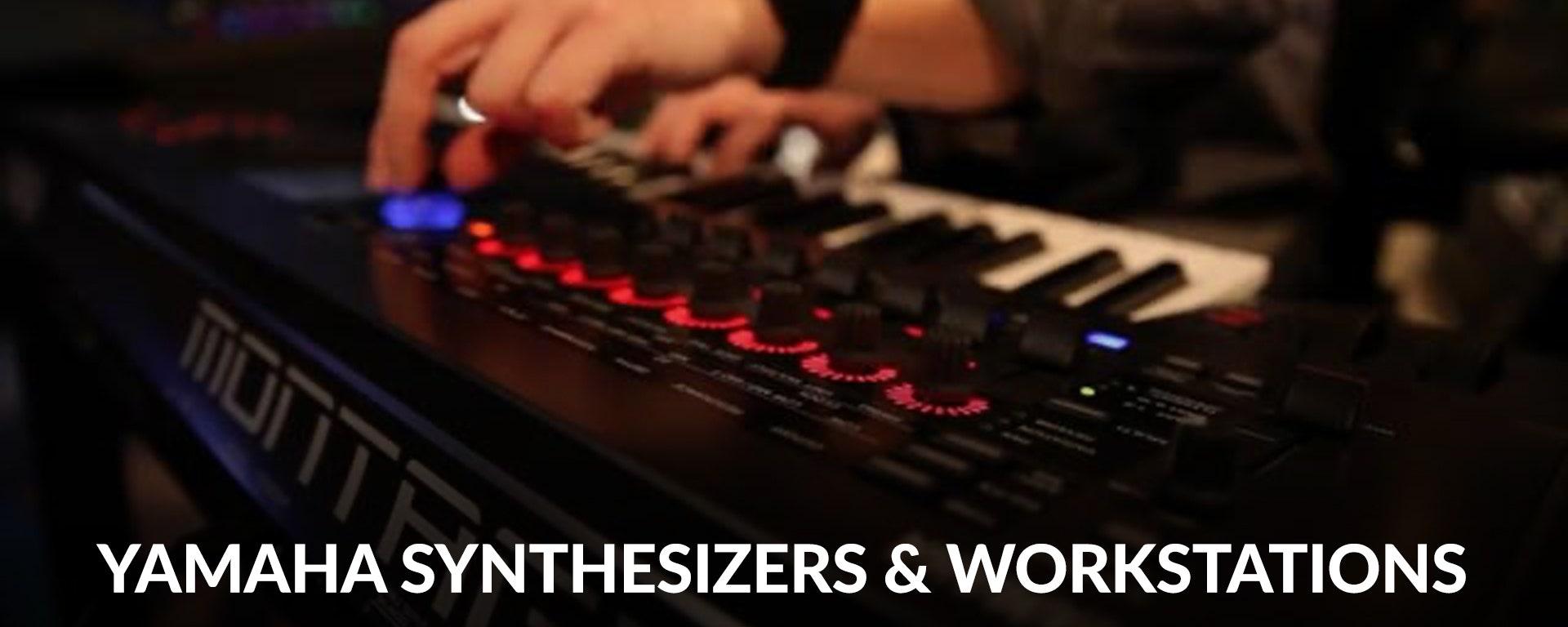 Shop Yamaha Synthesizers and Workstations at SamAsh.com