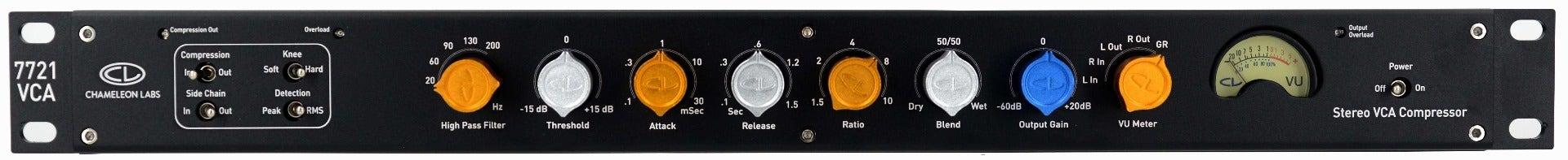Chameleon Labs 7721 Stereo VCA Compressor