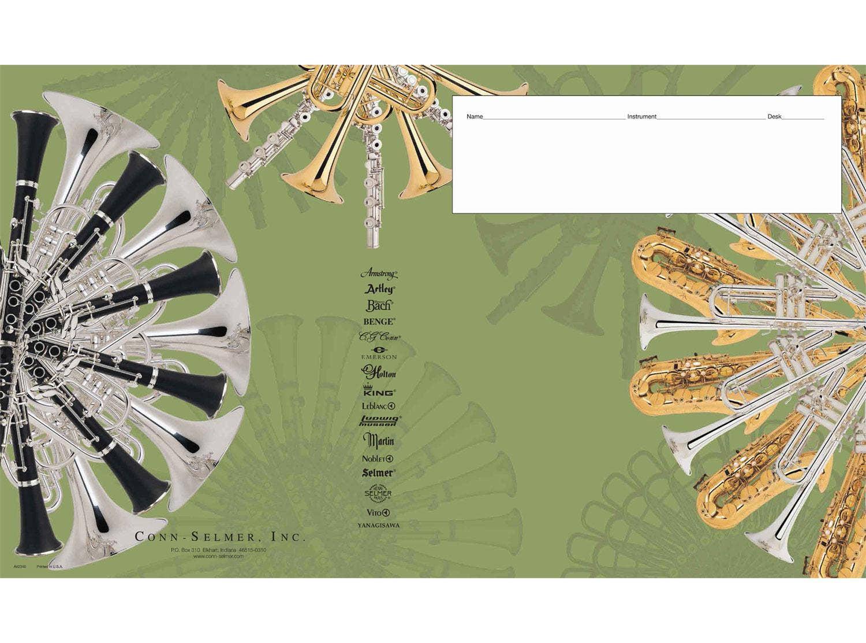 Colbert Packaging AV2340 Large Band Sheet Music Folio