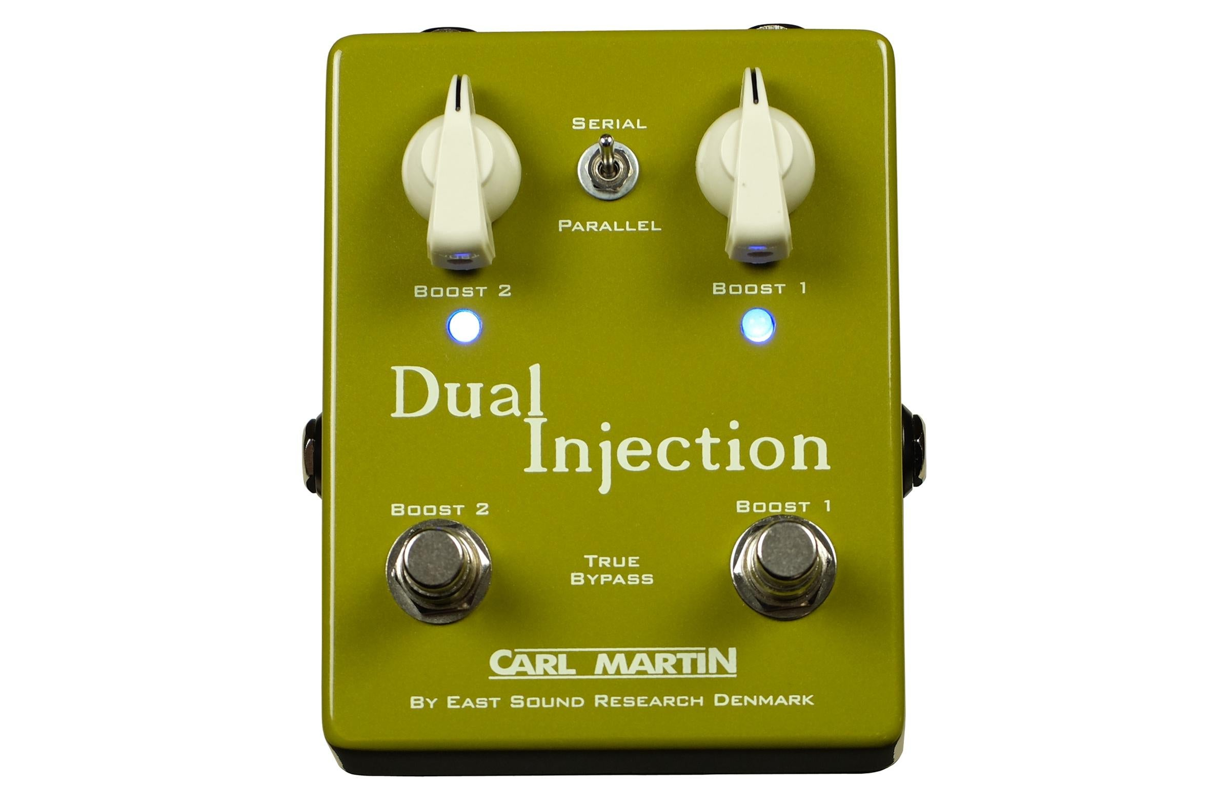 Carl Martin Dual Injection 2-in-1 Boost Guitar Effects Pedal for sale