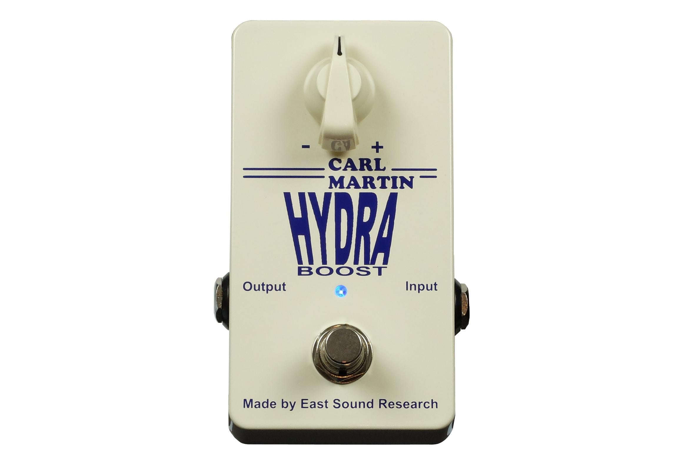 Carl Martin Hydra Boost Clean Boost Guitar Effects Pedal for sale