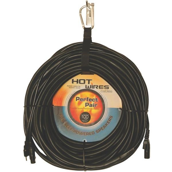 Hot Wires MP-COMBO Perfect Pair Powered Speaker Interconnect Cable, 25 Feet