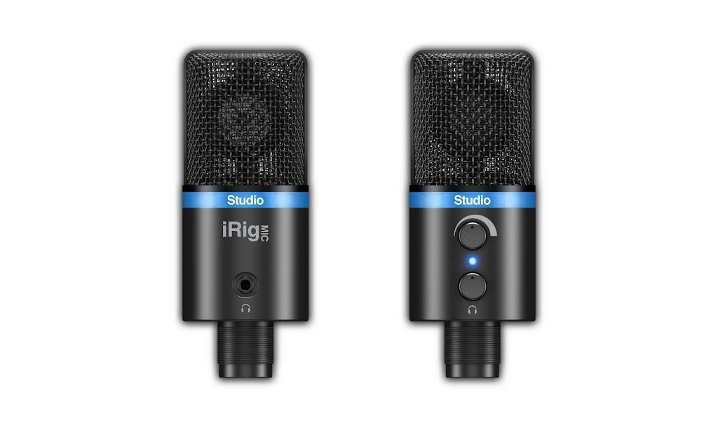 IK Multimedia iRig Mic Studio Digital Condenser Microphone (Black)