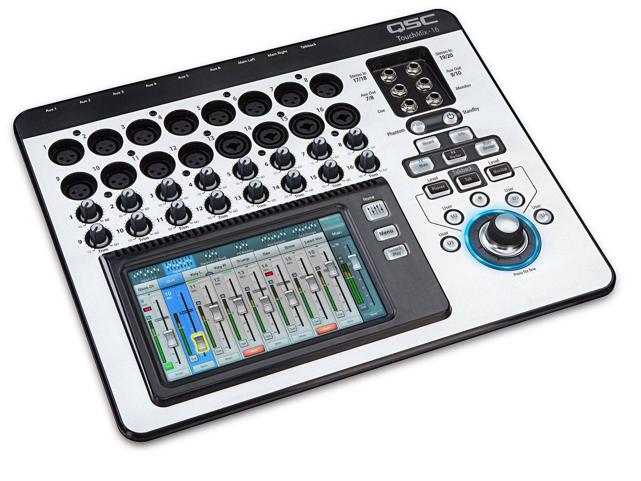 QSC TouchMix 16 16-Channel Compact Digital Mixer