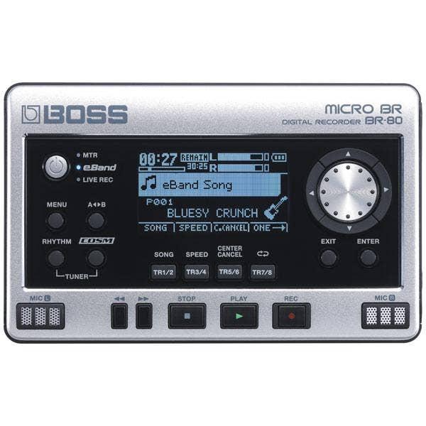 Boss BR-80 Digital Multi-Track Recorder