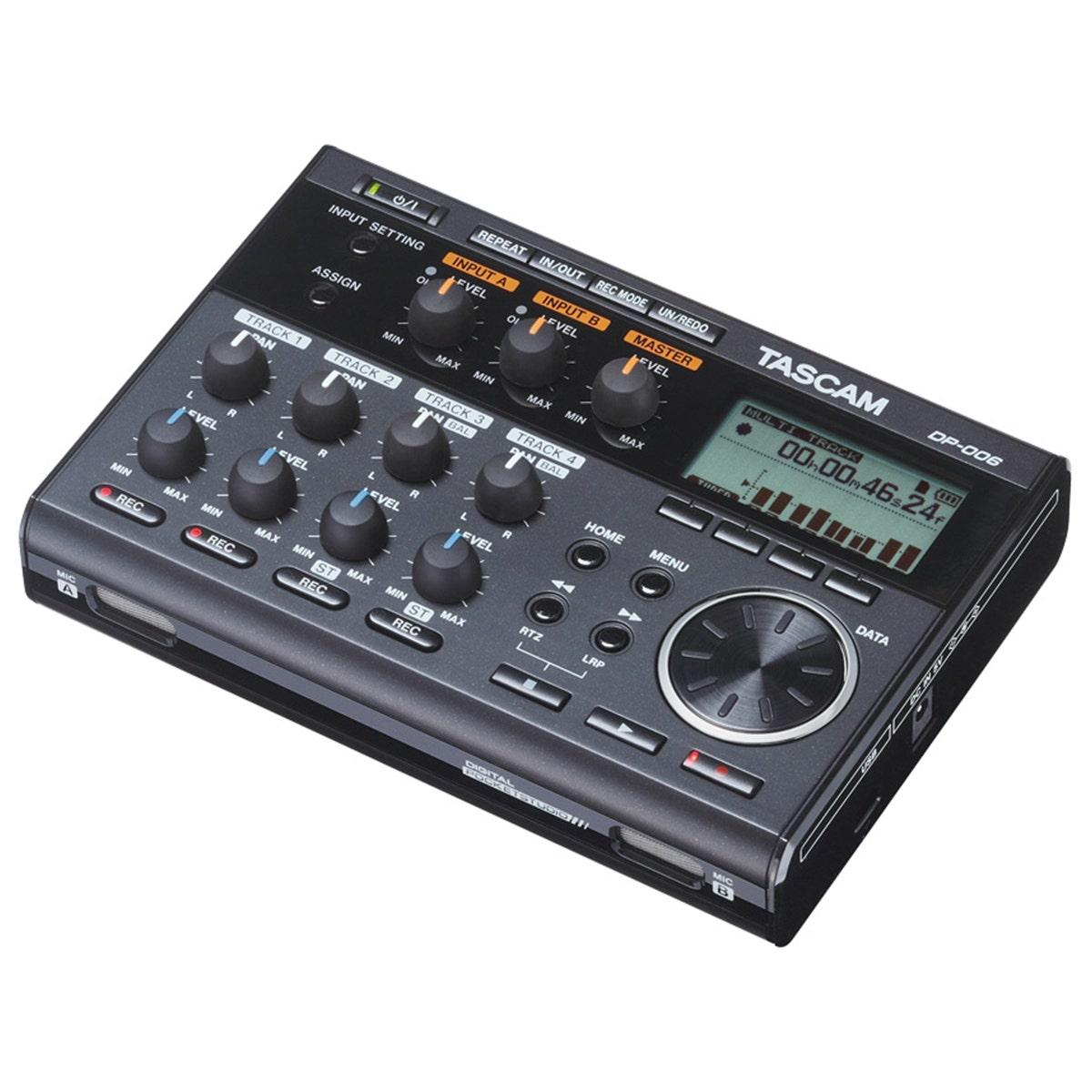 Tascam DP-006 6 Track Digital Pocketstudio Recorder