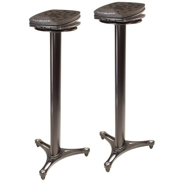 Ultimate Support MS-100 Studio Monitor Stands, Black